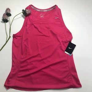 NIKE Running Tank Top in Hot Pink NWT - Size XL